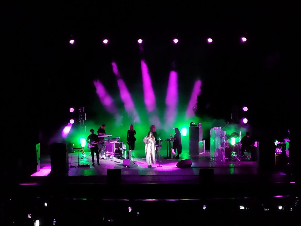 Концерт Джамалы в театре Музкомедии